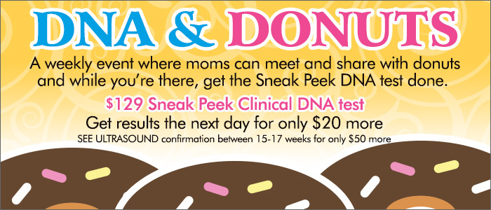 DNA and Donuts gender blood test